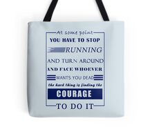 HG Collins Quote - HG Addicted Tote Bag