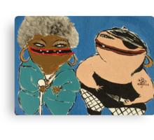 Pimp and Pirate Canvas Print