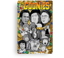 the Goonies collage Canvas Print