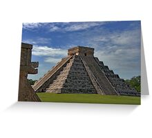 The Kukulcán Pyramid or El Castillo (The Castle) - Chichen Itza Greeting Card