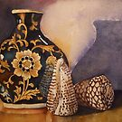 *The Black Vintage Vase*  by PERUGINA