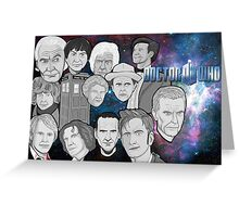 doctor who collage Greeting Card
