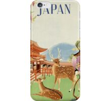 Japan and Deer iPhone Case/Skin