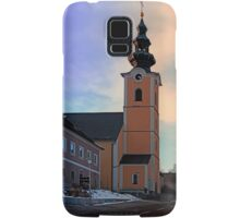 The village church of Traberg I | architectural photography Samsung Galaxy Case/Skin
