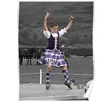 Highland Dancer Poster