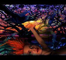 Night Raven  by Surrealfantasy