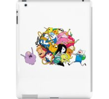 the adventure time mess iPad Case/Skin