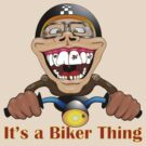 It&#x27;s a biker thing by Frederic Charpentier