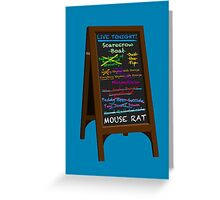Parks and Rec - Mouse Rat Greeting Card