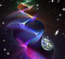 Space Time 076 by Karl Eschenbach
