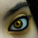 Gold Dust Eye by Meghan Gerhart