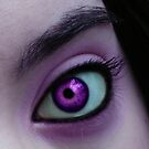 Purple People Eye by Meghan Gerhart