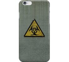 Biohazard iPhone Case/Skin