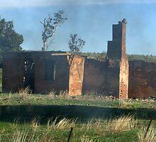 Smokin Ruins by SharonD