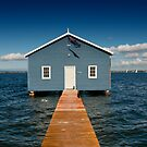 Boat Shed by Geoff White