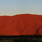 Uluru - Red Sunset by Bart The Photographer