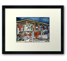 Hatch Chili New Mexico Framed Print