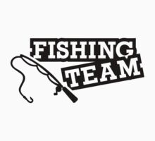 Fishing team by Designzz