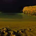 Night beach by westie71