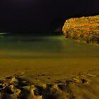 Night beach by westie71