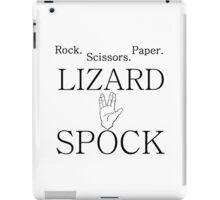 ROCK PAPER SCISSORS LIZARD 2 iPad Case/Skin