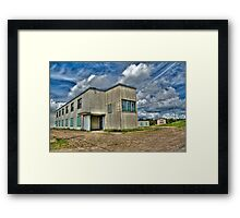Lonely on top of a hill Framed Print