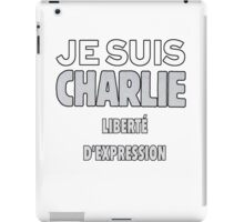 Je Suis Charlie - Stand up to Terrorism iPad Case/Skin