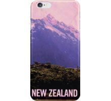Flight of the Conchords NZ tourism poster iPhone Case/Skin