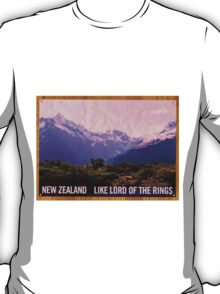 Flight of the Conchords NZ tourism poster T-Shirt