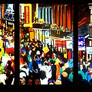 Bourbon Street Tryptich by Robert Reeves