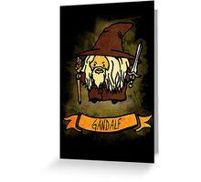 Bouncy Gandalf Greeting Card