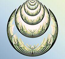 Art deco shell by Martilena
