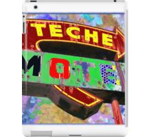 Teche Motel iPad Case/Skin