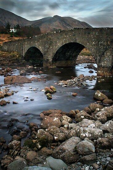 Sligachan Bridge by Becca  Cusworth