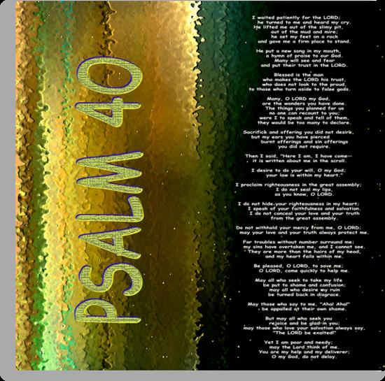 Psalm 40 by Ruth Palmer