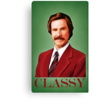 ANCHORMAN - The Legend of Ron Burgundy. Canvas Print