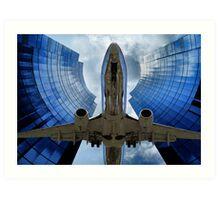 Flying Through The Key Hole Art Print