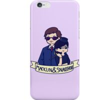 Burt Macklin and Janet Snakehole iPhone Case/Skin