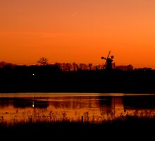 Pakenham Watermill over Micklesmere by John Newson