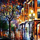 Rain In Miami — Buy Now Link - www.etsy.com/listing/175804150 by Leonid  Afremov