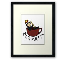Cup of Moriarty Framed Print