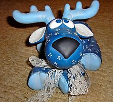 The  Little Blue Moose by kenspics