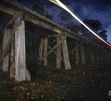 Eltham Railway Bridge by Joseph Darmenia
