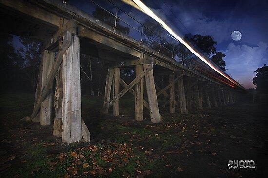Eltham Railway Bridge by Joseph Darmenia
