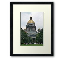 St. Isaac's Cathedral Framed Print