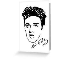 Elvis! Greeting Card