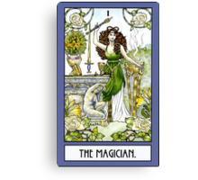The Magician - Card Canvas Print