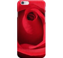 My Love is Like a Red Rose iPhone Case/Skin