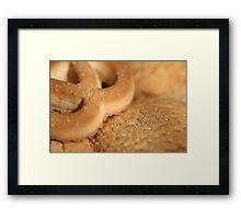 Freshly made cookies Framed Print