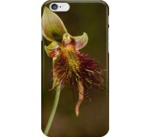 Red Beard Orchid. iPhone Case/Skin